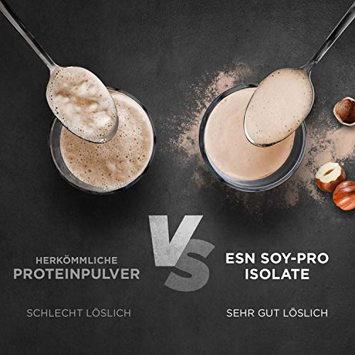 ESN Soja Protein Isolat, Raw Series, Natural, 1er Pack (1 x 1000g Beutel) - 6