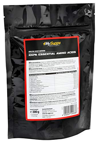 My Supps 100% Amino EAAs Powder