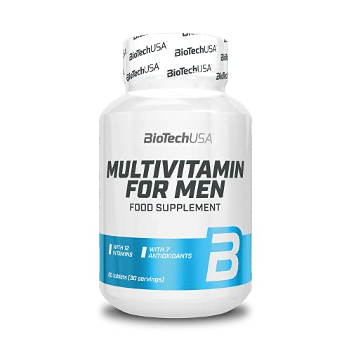 BioTech USA Multivitamin- 60 Tabletten, 1er Pack (1 x 84 g)