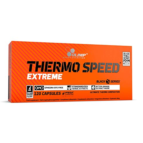 Olimp Thermo Speed Extreme Mega Caps 120 Kapseln, 1er Pack (1 x 146,4 g)