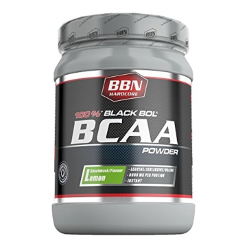 BBN Hardcore BCAA Black Bol Powder Lemon 450 g -