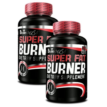 BioTech USA Super Fat Burner 2er Pack, (2 x 120 Kapseln) -