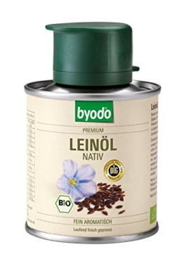 Byodo Natives Leinöl, 1er Pack (1 x 100 ml) - Bio -