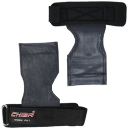 Chiba Trainingshilfe Power Grips, Schwarz, One Size, 40650 - 1