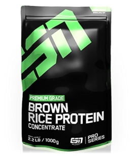 ESN Brown Rice Protein Concentrate, Pro Series, Cinnamon Roll, 1er Pack (1 x 1000g Beutel) -