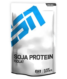 ESN Soja Protein Isolat, Raw Series, Natural, 1er Pack (1 x 1000g Beutel) -