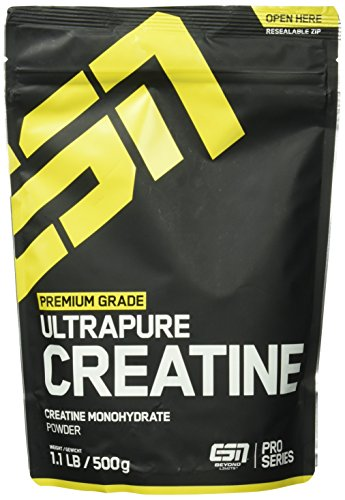 ESN Ultrapure Creatine Monohydrate, Pro Series, 1er Pack (1 x 500g Beutel) - 1