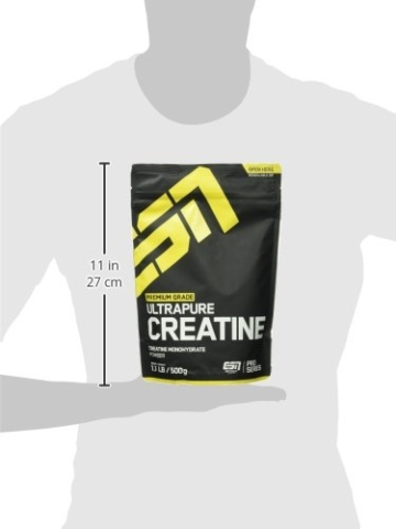 ESN Ultrapure Creatine Monohydrate, Pro Series, 1er Pack (1 x 500g Beutel) - 4