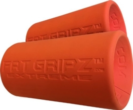 Fat Gripz Extreme Hantelgriffe, Ø 7cm, Orange, 854078001113 - 1