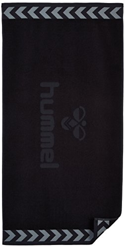 Hummel Handtuch OLD SCHOOL SMALL TOWEL, Black, 100 x 50 cm, 25-064-2001 - 1