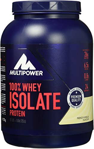 Multipower Whey Isolate French Vanilla 725g, 1er Pack (1 x 725 g) - 1