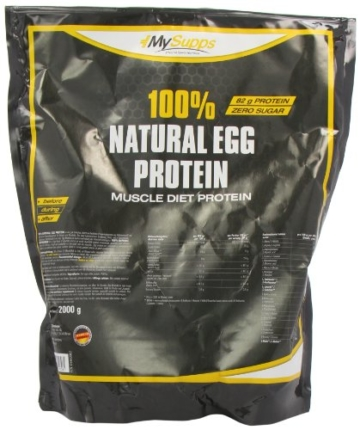 My Supps 100% Natural Egg Protein, 1er Pack (1 x 2 kg) -