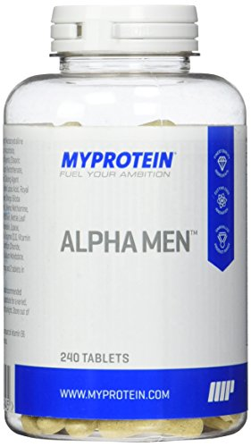 Myprotein Alpha Men Super Multi Vitamin  240 Tabletten, 1er Pack (1 x 300 g) -