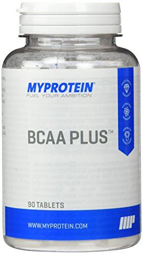 Myprotein BCAA Plus 1000 mg-  90 Tabletten, 1er Pack (1 x 91 g) -