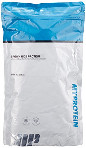 Myprotein Brown Rice Protein Unflavoured, 1er Pack (1 x 1 kg) -