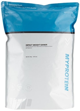 Myprotein Impact Weight Gainer Chocolate Smooth, 1er Pack (1 x 2.5 kg) -