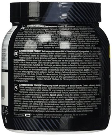 Olimp L-Glutamine Explode Powder, Ananas, 500 g -