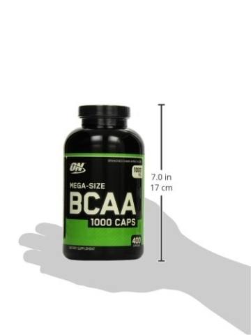 Optimum Nutrition BCAA 1000- 400 Kapseln , 1er Pack (1 x 400 g) -
