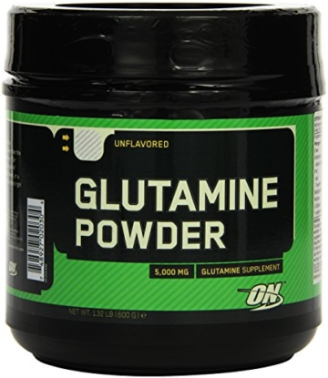 Optimum Nutrition Glutamine Powder, 1er Pack (1 x 600 g) -