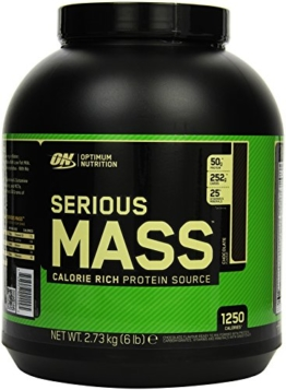 Optimum Nutrition Serious Mass Gainer Chocolate, 1er Pack (1 x 2727 g) -