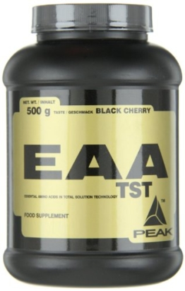 Peak EAA - TST Black, Black Cherry, 500 g -