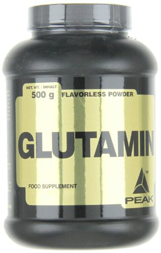 Peak Glutamin, Neutral, 500 g -