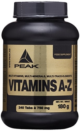 Peak Vitamins, 240 Tabletten -
