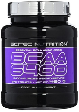 Scitec Nutrition BCAA 6400, 375 Tabletten -