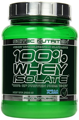 Scitec Nutrition Whey Isolate Vanille, 1er Pack (1 x 700 g) -