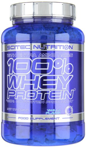 Scitec Nutrition Whey Protein Vanille, 1er Pack (1 x 920 g) -