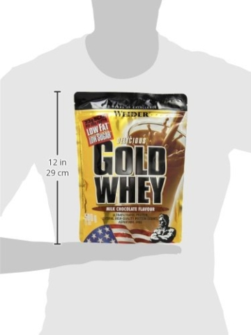Weider Gold Whey, Milk Chocolate/Schokolade, 1er Pack (1x 500g) -