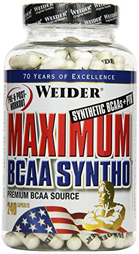 Weider Maximum BCAA Syntho + PTK, Neutral, 1er Pack (1 x 210 g) -